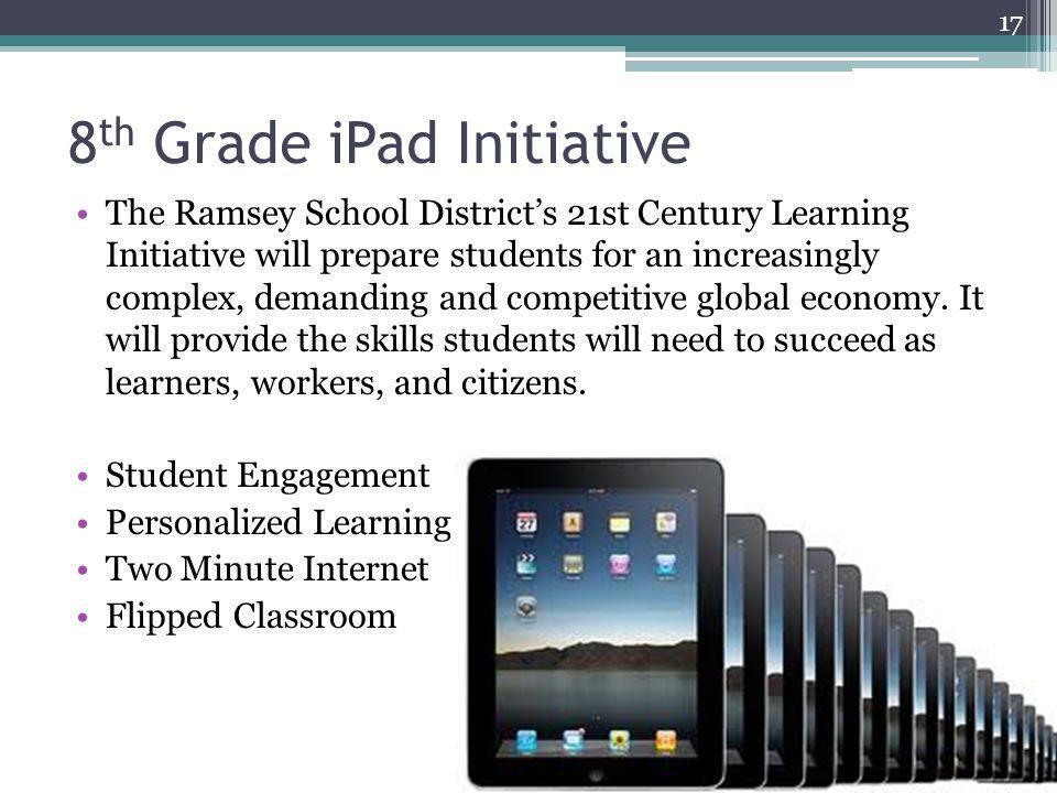 8th Grade iPad Initiative
