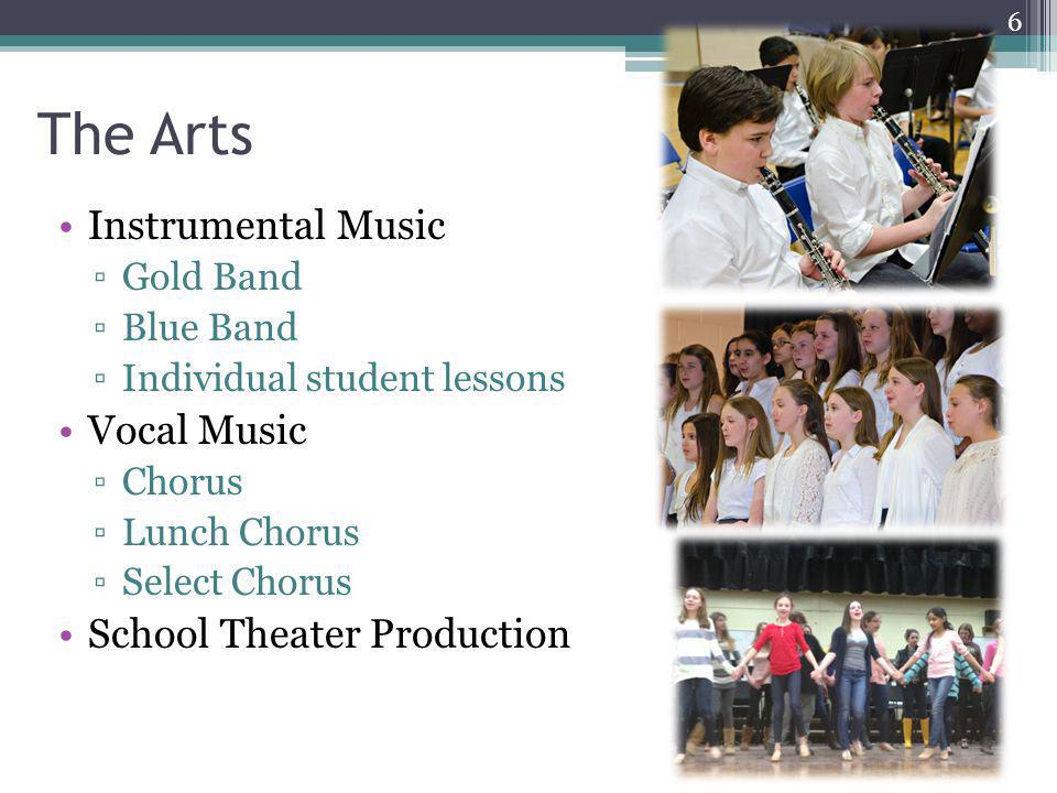 The Arts Instrumental Music Vocal Music School Theater Production