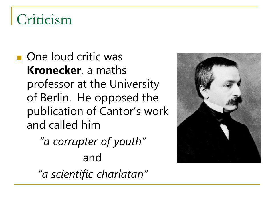 a scientific charlatan