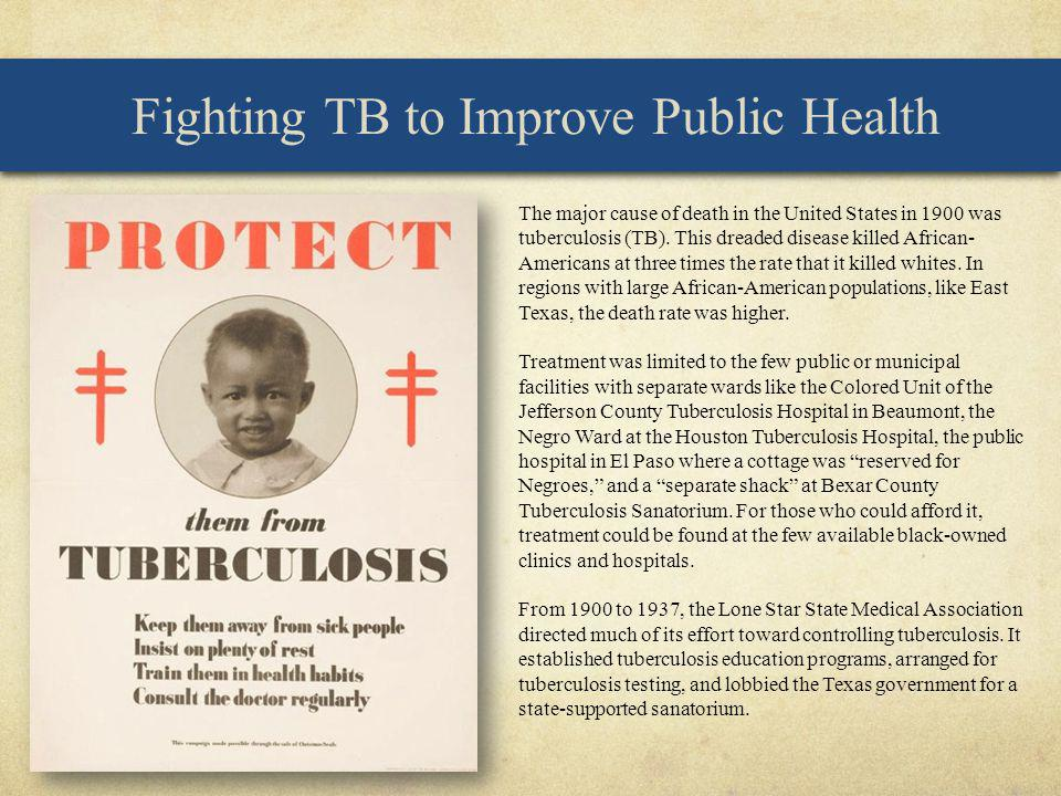 Fighting TB to Improve Public Health