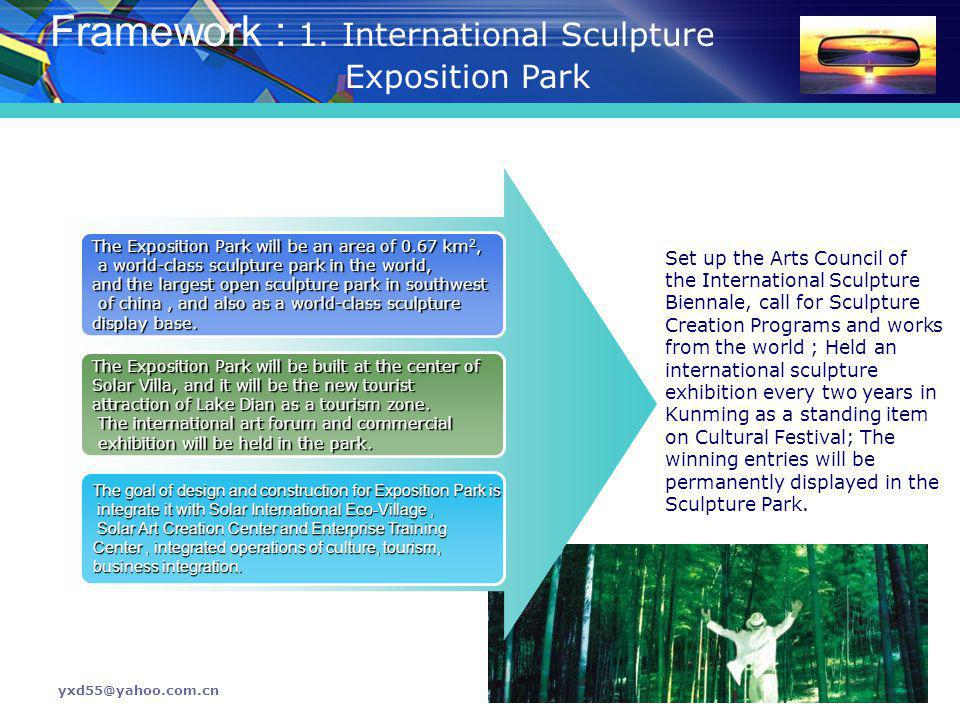 Framework : 1. International Sculpture