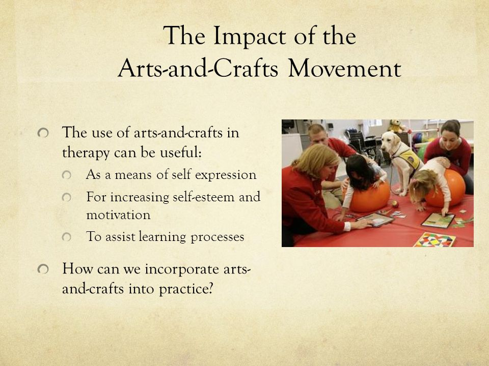 The Impact of the Arts-and-Crafts Movement