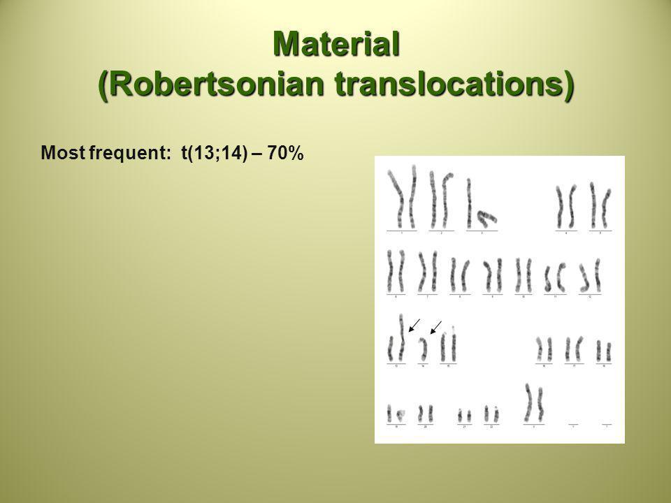 Material (Robertsonian translocations)