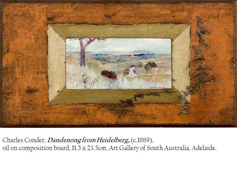 Charles Conder, Dandenong from Heidelberg, (c