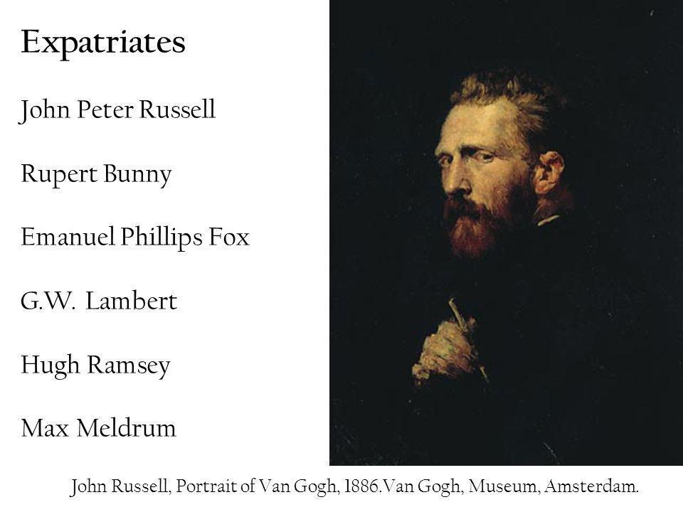 Expatriates John Peter Russell Rupert Bunny Emanuel Phillips Fox G. W