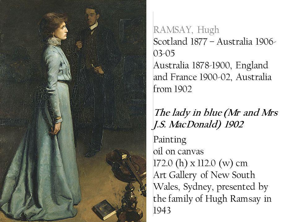 RAMSAY, Hugh Scotland 1877 – Australia 1906-03-05. Australia 1878-1900, England and France 1900-02, Australia from 1902.