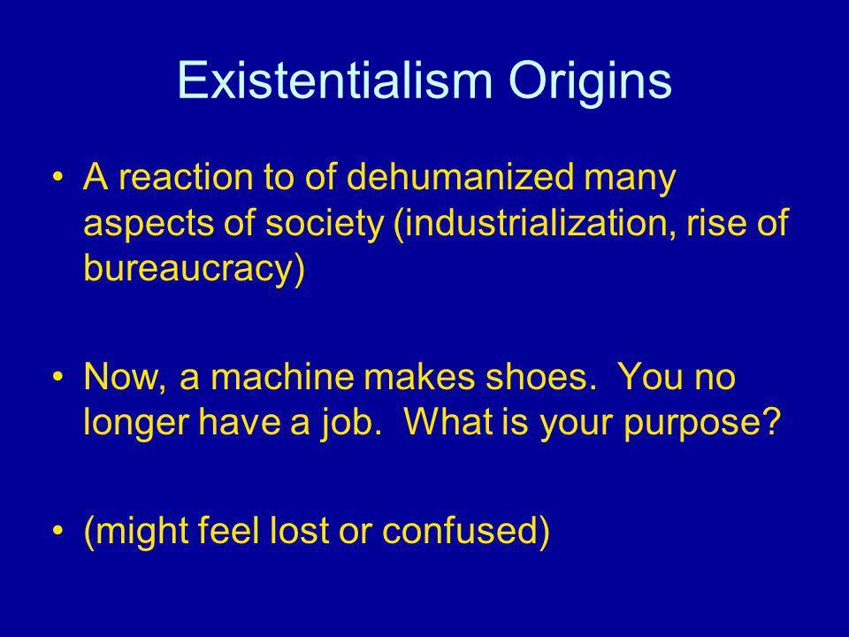 Existentialism Origins
