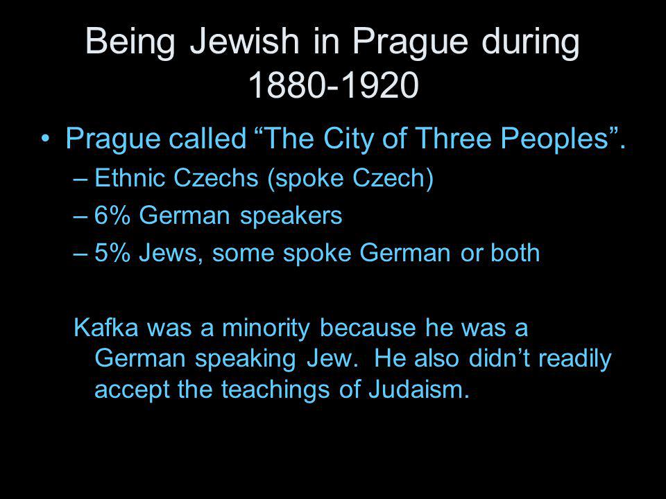 Being Jewish in Prague during 1880-1920