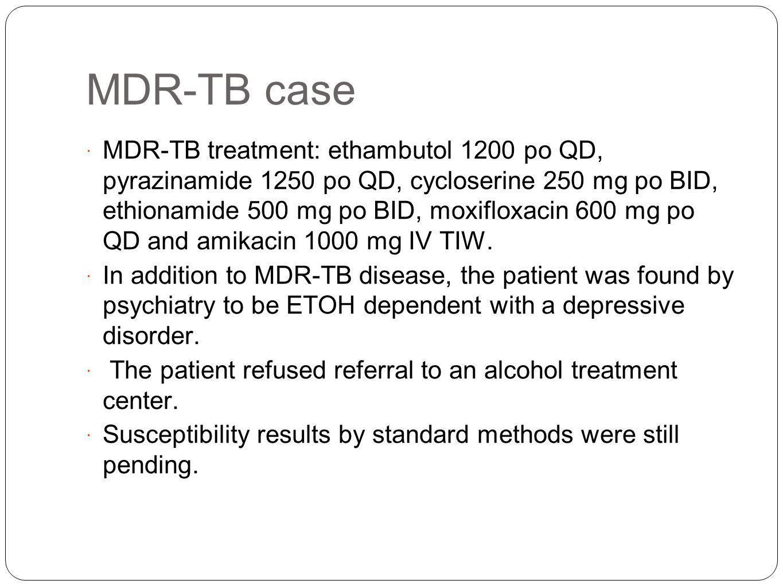MDR-TB case