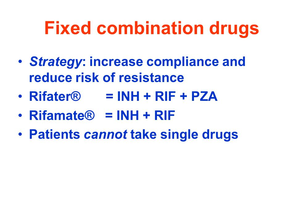 Fixed combination drugs