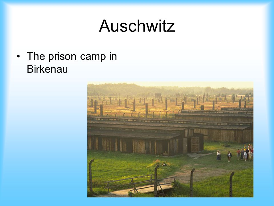 Auschwitz The prison camp in Birkenau