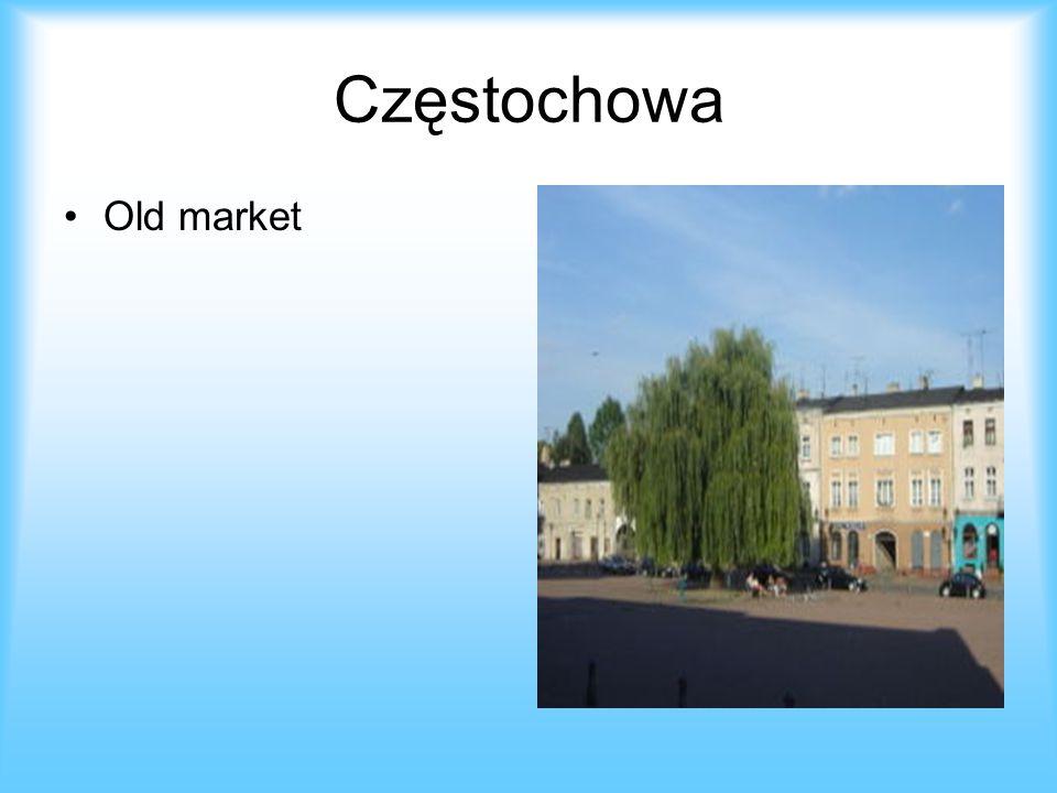 Częstochowa Old market