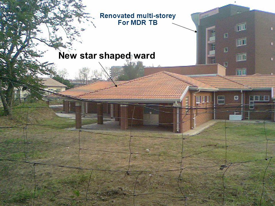 Renovated multi-storey