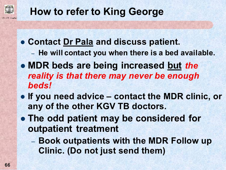 How to refer to King George