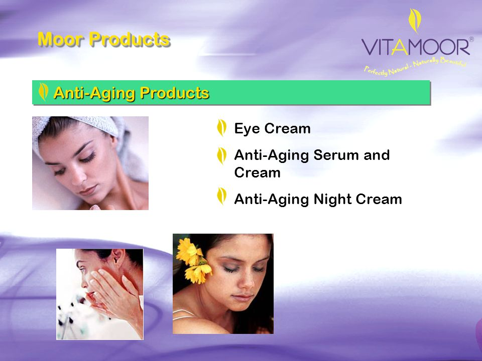 Moor Products Anti-Aging Products Eye Cream Anti-Aging Serum and Cream