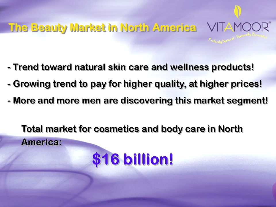 $16 billion! The Beauty Market in North America
