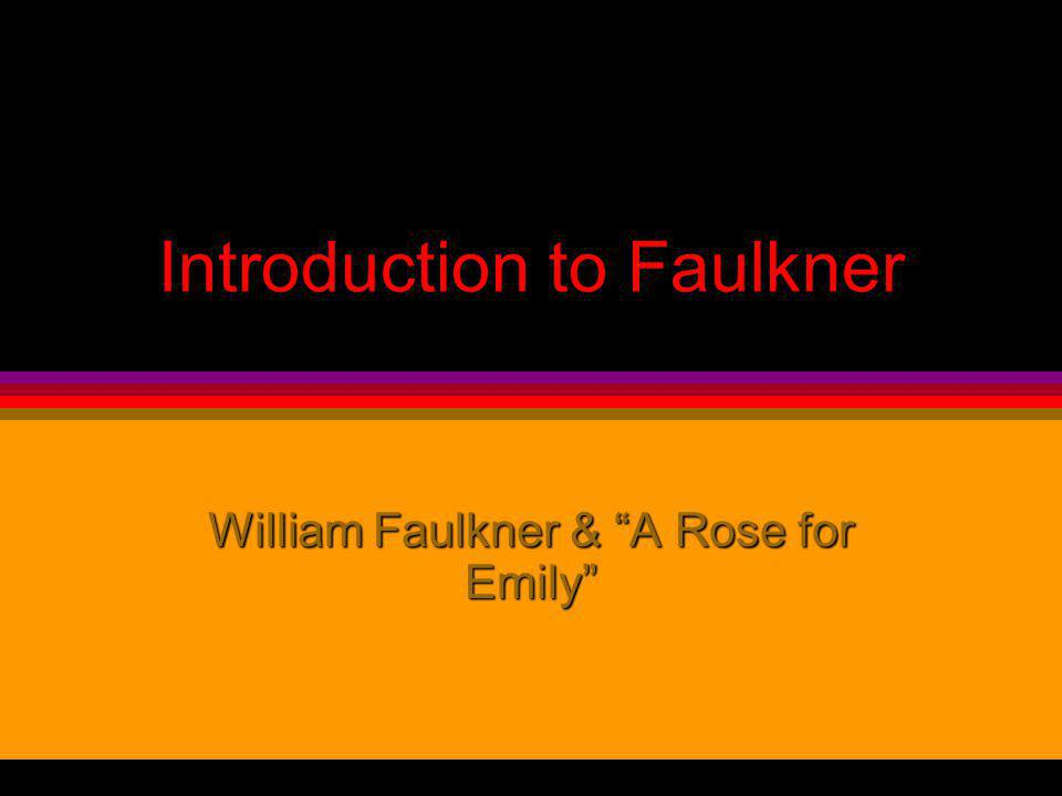 the elements of gothic style in a rose for emily a short story by william faulkner