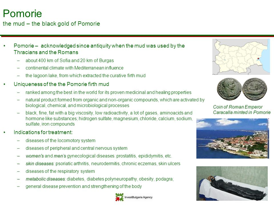 Pomorie the mud – the black gold of Pomorie