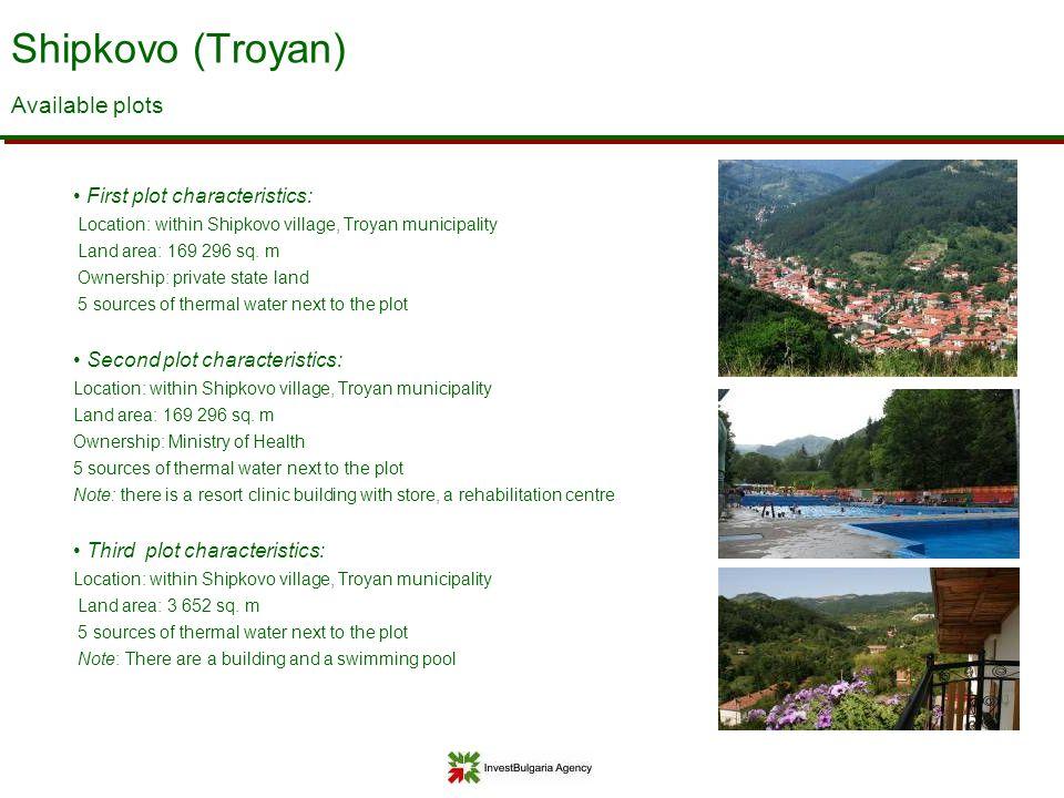 Shipkovo (Troyan) Available plots