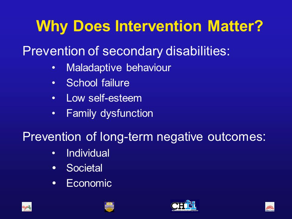 Why Does Intervention Matter