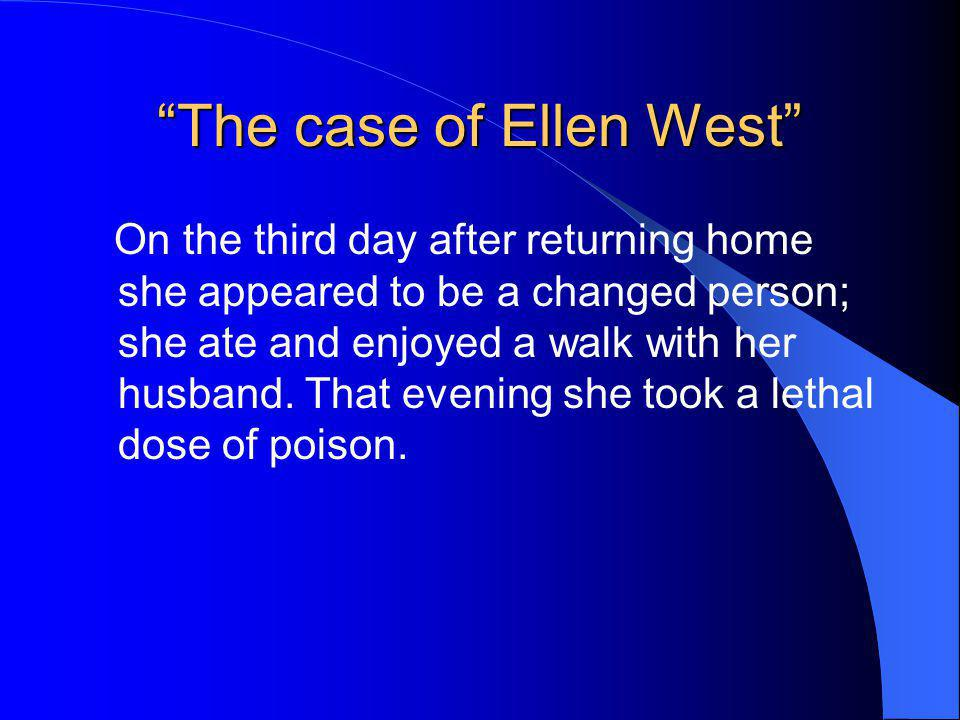 The case of Ellen West
