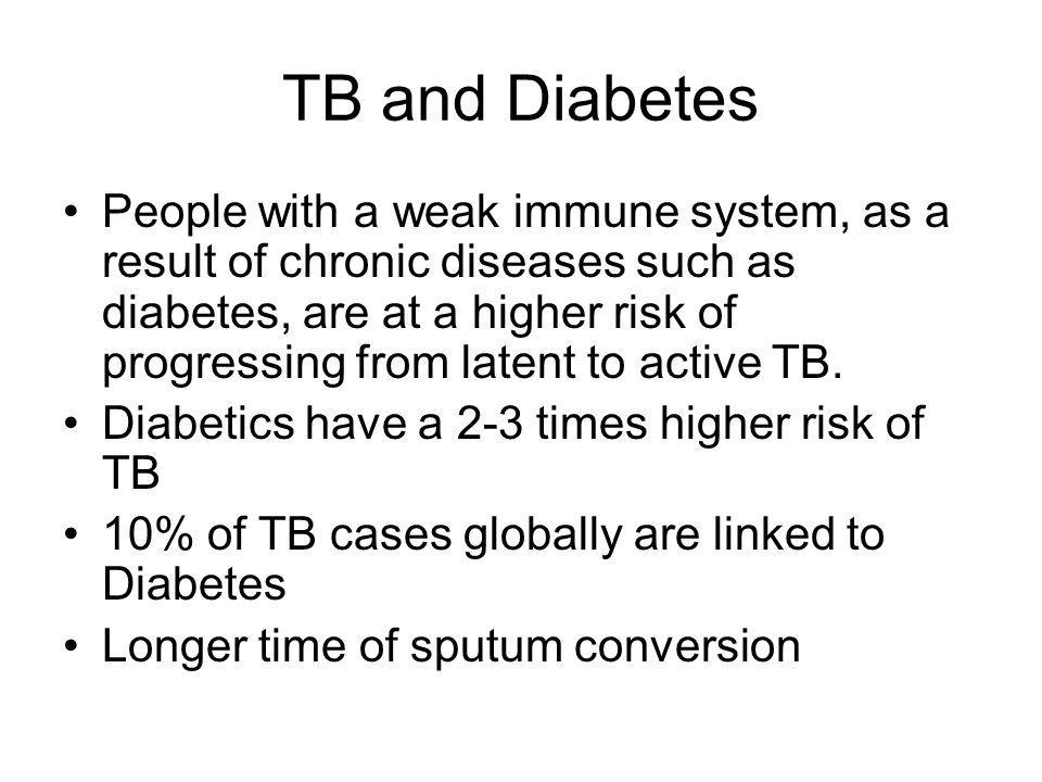 TB and Diabetes