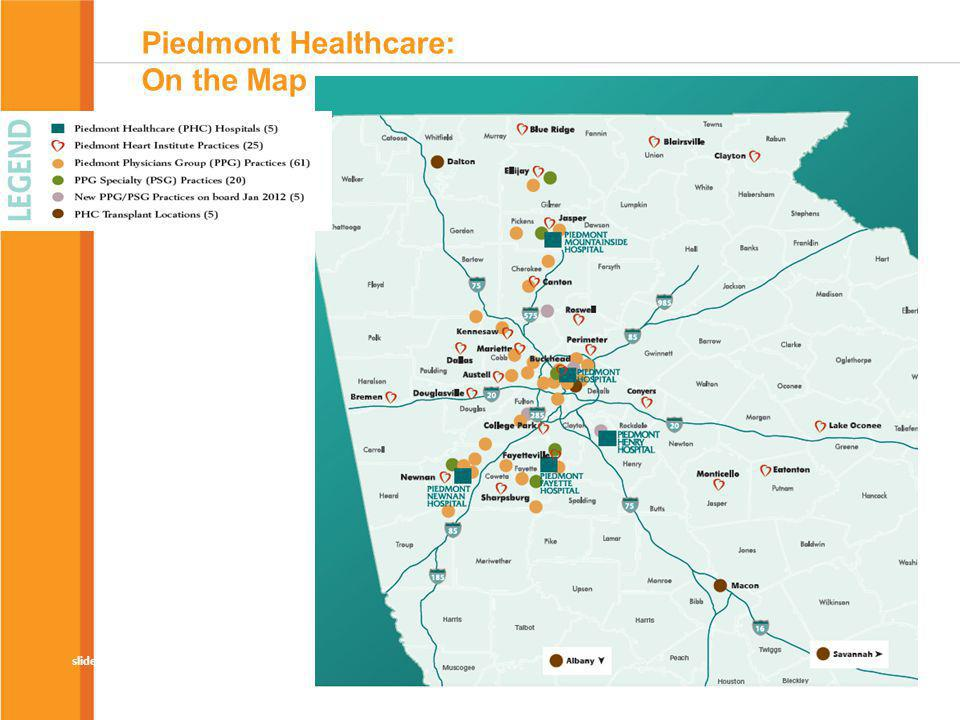 Piedmont Healthcare: On the Map
