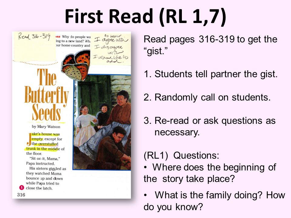 First Read (RL 1,7) Read pages 316-319 to get the gist.