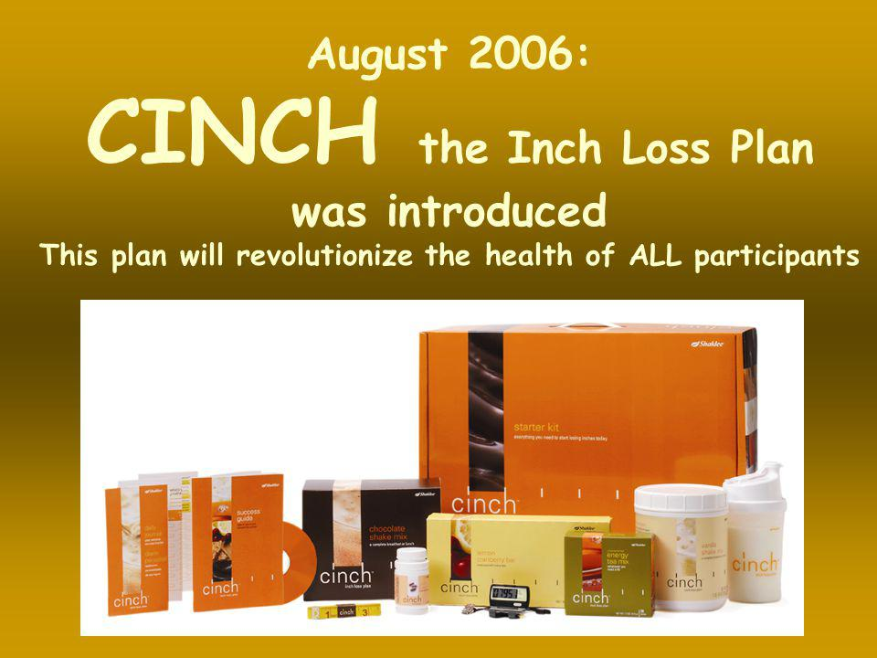 CINCH the Inch Loss Plan
