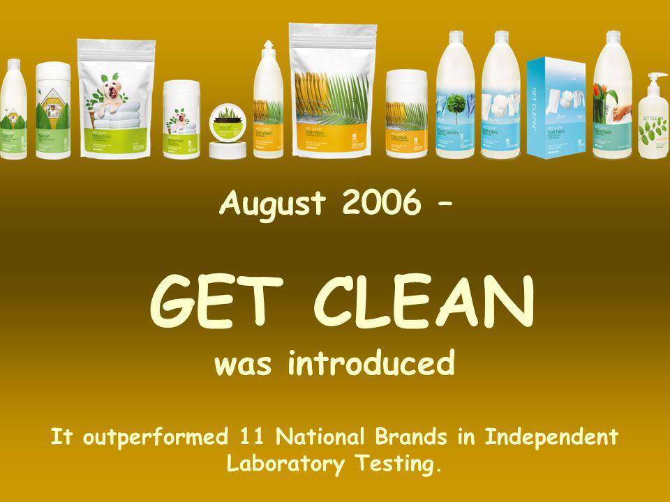 It outperformed 11 National Brands in Independent Laboratory Testing.