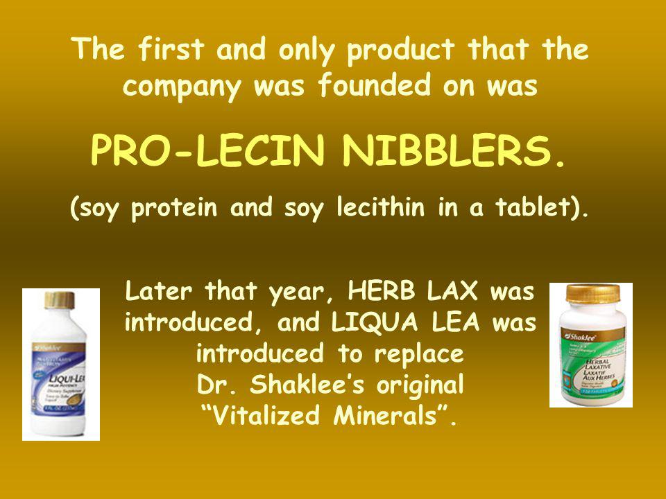 The first and only product that the company was founded on was