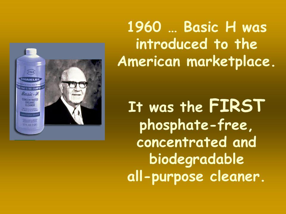 1960 … Basic H was introduced to the American marketplace.
