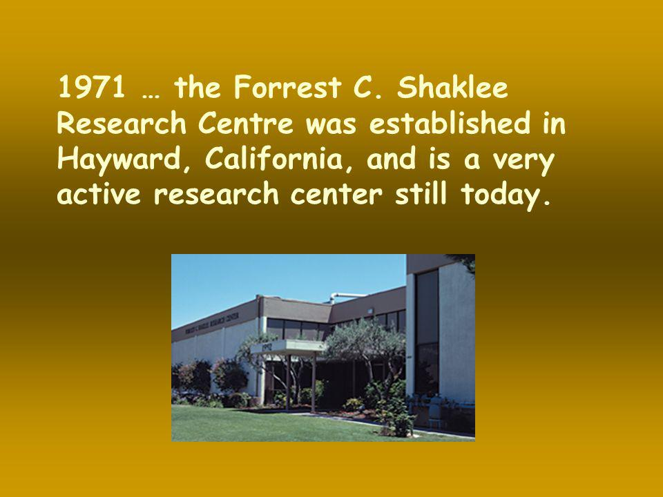 1971 … the Forrest C.