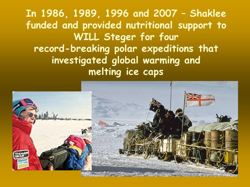 record-breaking polar expeditions that investigated global warming and