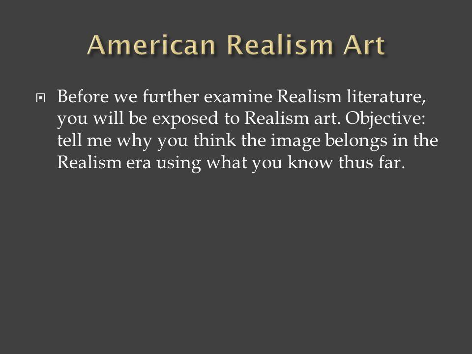 American Realism Art