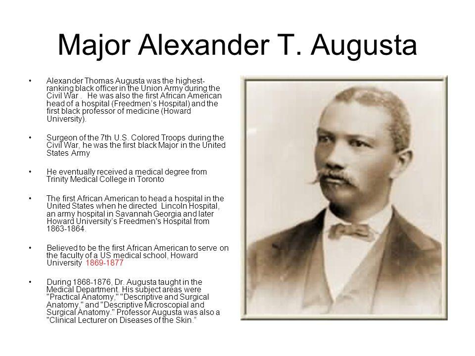 Major Alexander T. Augusta