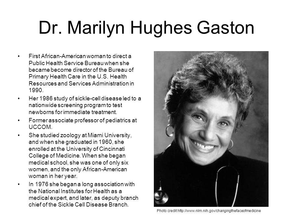 Dr. Marilyn Hughes Gaston