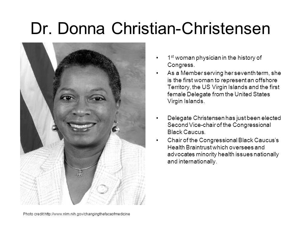 Dr. Donna Christian-Christensen