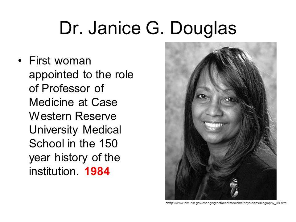 Dr. Janice G. Douglas