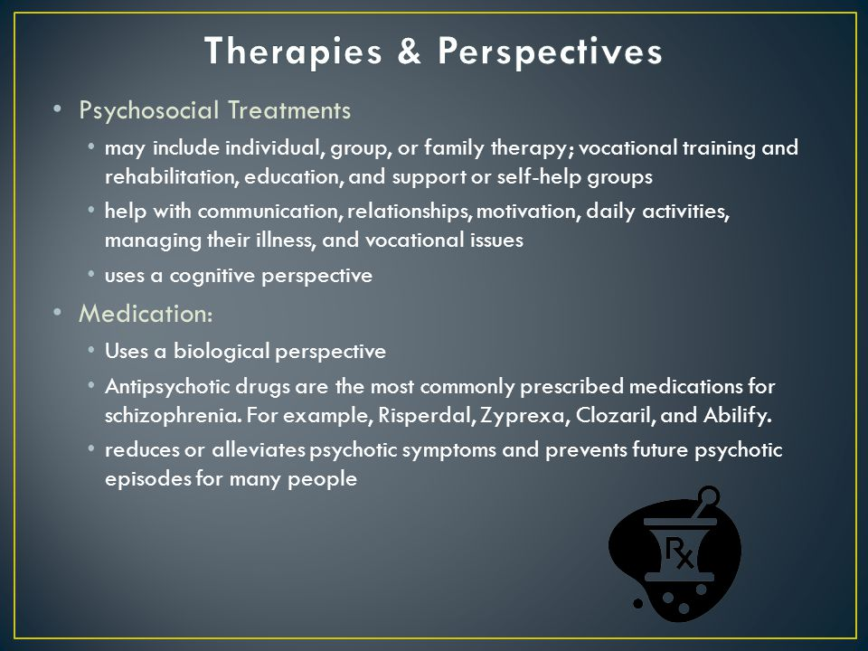 Therapies & Perspectives