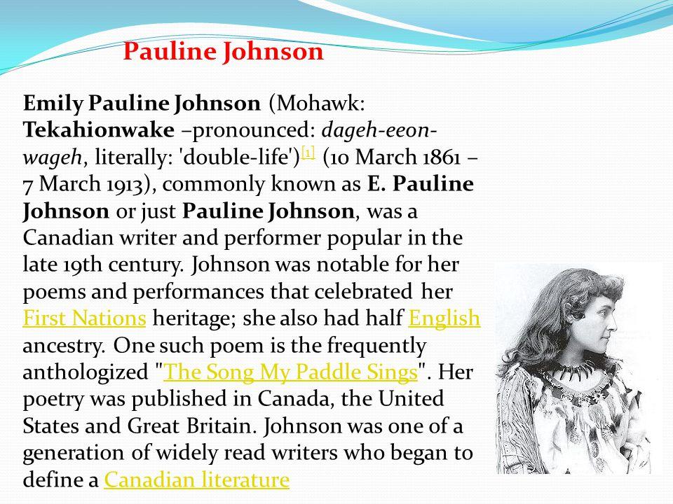 Pauline Johnson