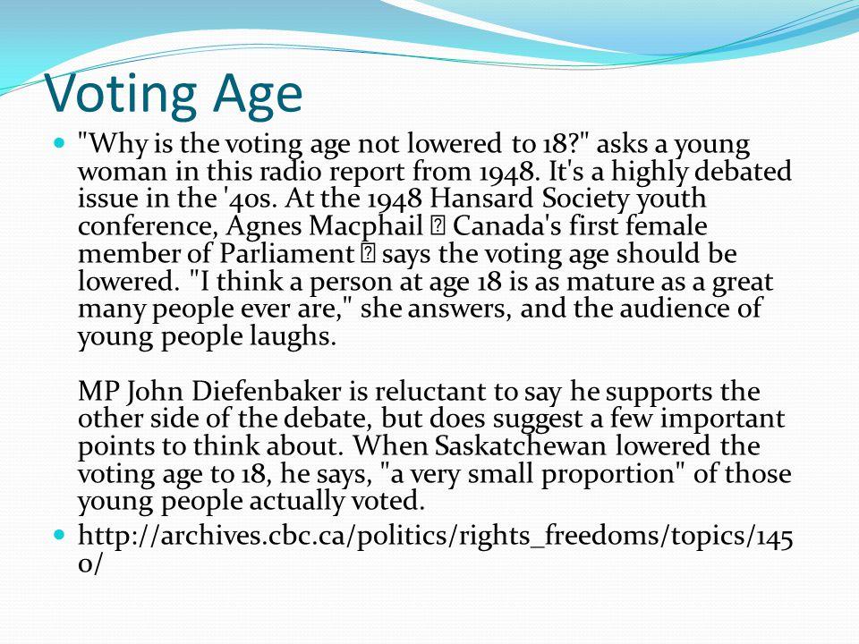 Voting Age