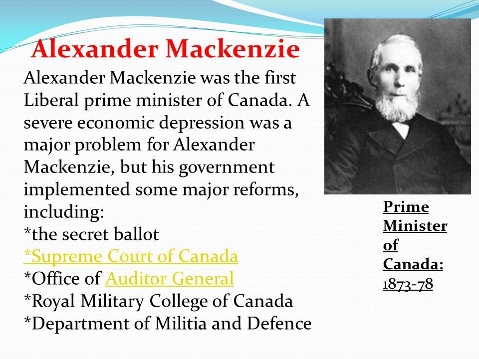 Alexander Mackenzie