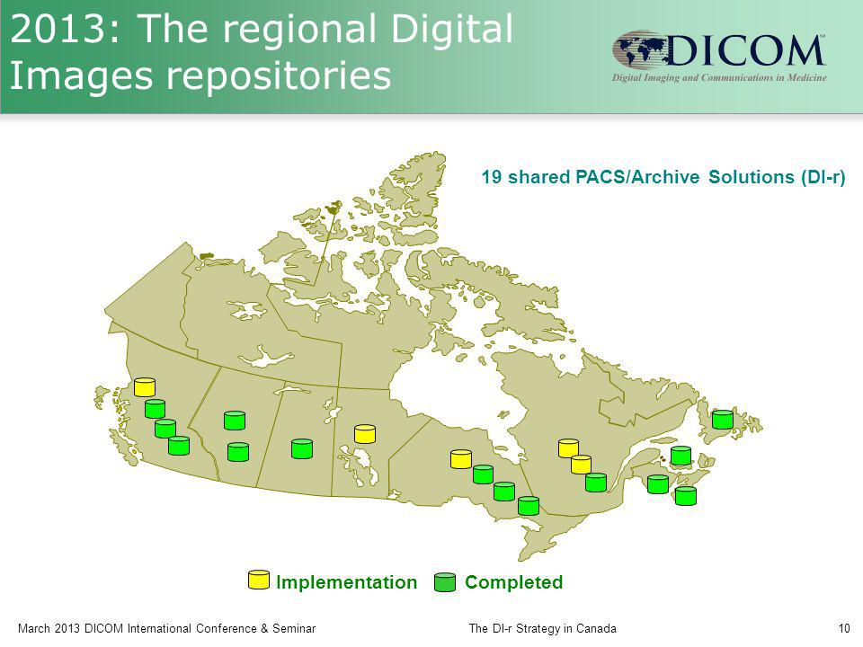 2013: The regional Digital Images repositories