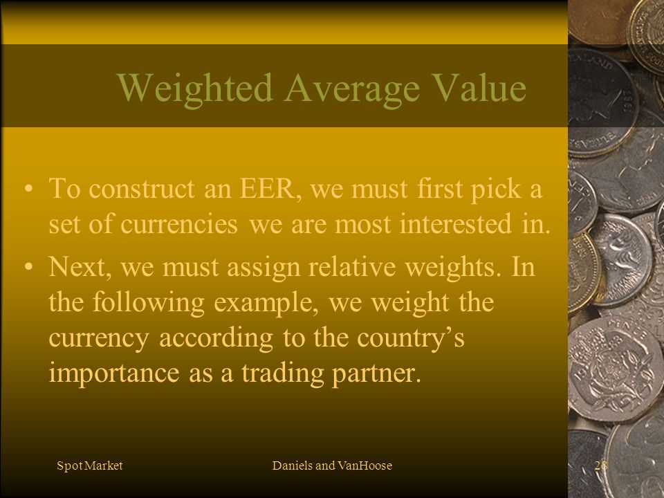Weighted Average Value