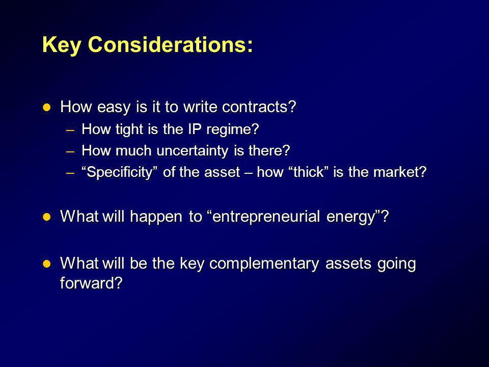 Key Considerations: How easy is it to write contracts