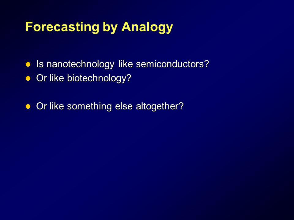 Forecasting by Analogy