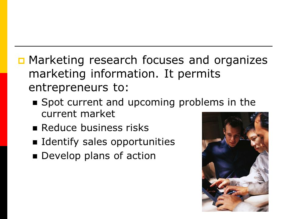 Marketing research focuses and organizes marketing information