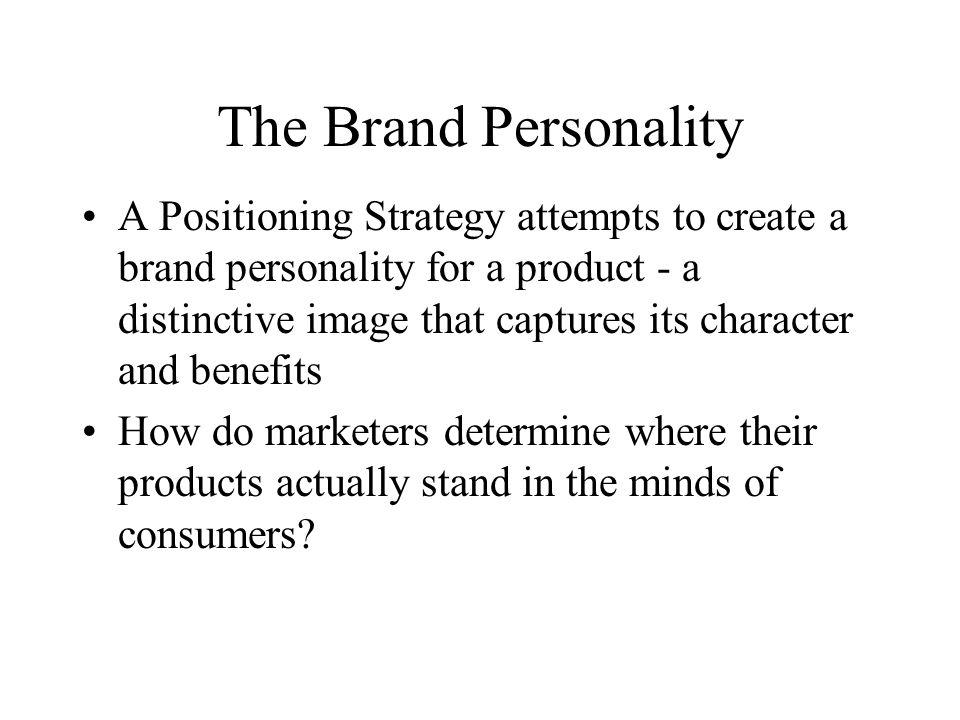 The Brand Personality
