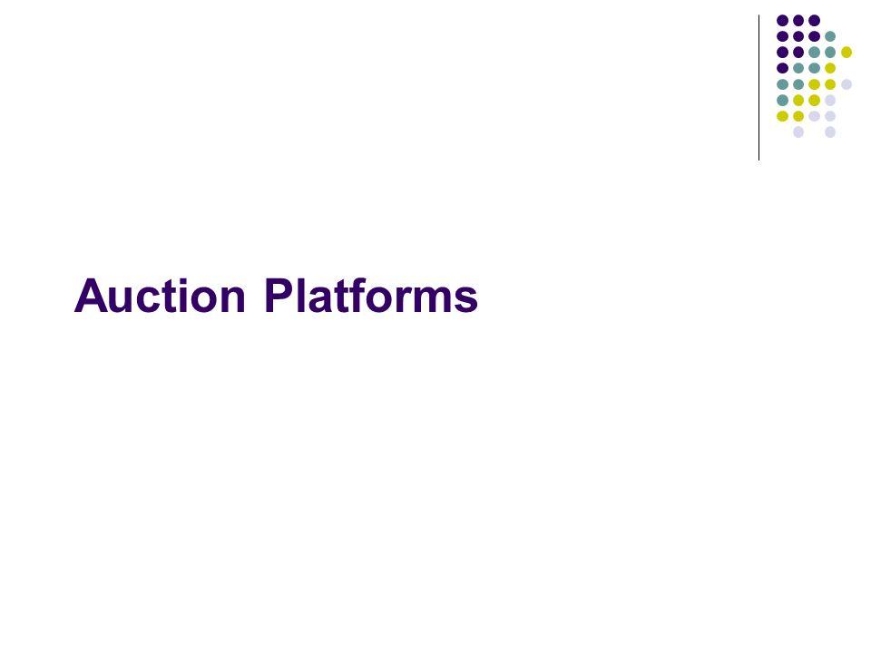 Auction Platforms